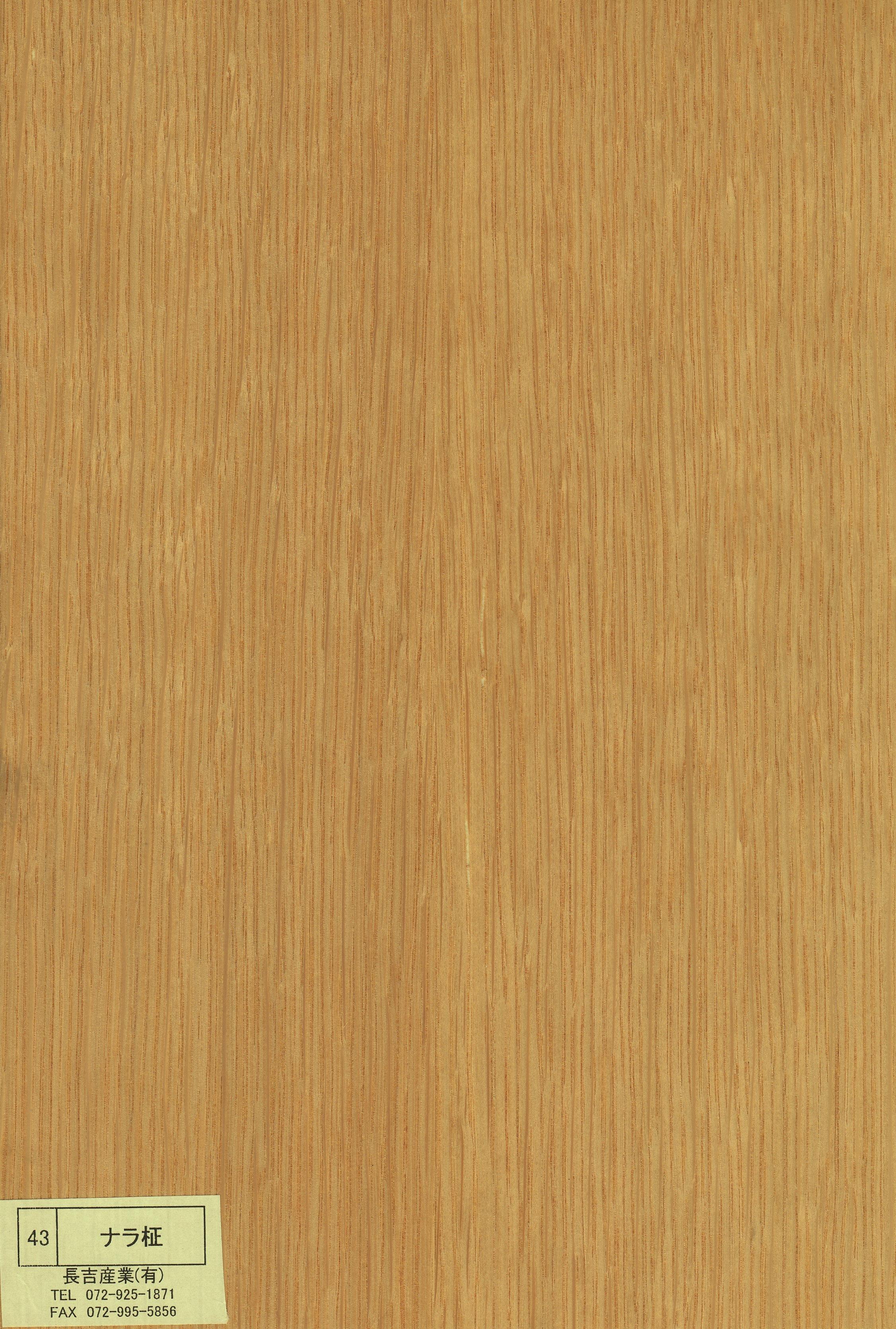 ナラ | 突板(ツキ板)の製造・...